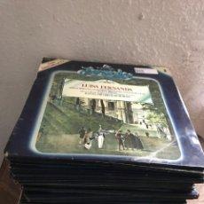 Discos de vinilo: COLECCIÓN DE VINILOS LA ZARZUELA 90 LP FALTA EL NÚMERO 54,63,70. Lote 180338830