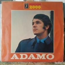 Discos de vinilo: *** ADAMO - ÉXITOS - EDITION 2000 - DOBLE LP - PORTADA DOBLE - LEER DESCRIPCIÓN. Lote 180338835