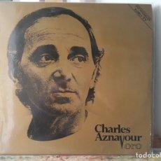 Discos de vinilo: *** CHARLES AZNAVOUR - ORO - DOBLE LP - PORTADA DOBLE - LEER DESCRIPCIÓN. Lote 180339195