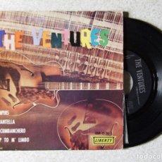 Discos de vinilo: THE VENTURES.MEMPHIS + 3. Lote 180340265