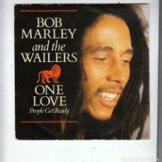 Discos de vinilo: BOB MARLEY: WAILERS- REGGAE- SOLO PORTADA PAPEL SIN VINILO- MUY BUEN ESTADO. Lote 180340681