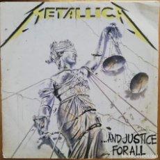 Discos de vinilo: METALLICA – ...AND JUSTICE FOR ALL -2LP 1989 1ª EDICION BRAZIL -MUY RARA!!!! . Lote 180386896