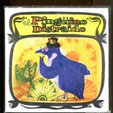 Dischi in vinile: EL PINGÜINO DISTRAIDO. CUENTO INFANTIL DIM RECORD 1968. BUENO. Lote 180387261