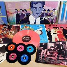 Discos de vinilo: PACK DE LOS ZOMBIES Y BONEZZI. EXTRAÑOS JUEGOS, LA MURALLA CHINA Y ST. LOUIS. Lote 180387333
