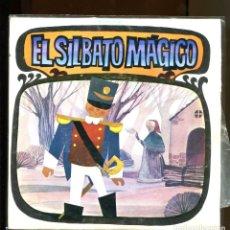 Dischi in vinile: EL SILBATO MÁGICO. CUENTO INFANTIL DIM RECORD 1968. BUENO . Lote 180387442