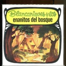 Dischi in vinile: BLANCANIEVES Y LOS ENANITOS DEL BOSQUE. CUENTO INFANTIL DIM RECORD 1968. NUEVO . Lote 180387651