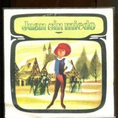 Dischi in vinile: JUAN SIN MIEDO.. CUENTO INFANTIL DIM RECORD 1968. BUENO . Lote 180387717
