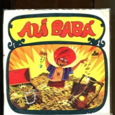 Discos de vinilo: ALÍ BABÁ. CUENTO INFANTIL DIM RECORD 1968. BUENO . Lote 180387756