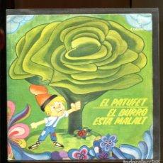 Discos de vinil: EL PATUFET. EL BURRO ESTÀ MALALT. COLUMBIA 1964. BUENO. Lote 180389931