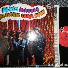 Discos de vinilo: BLUES MAGOOS / ELECTRIC COMIC BOOK 67 !! 2º LP !! GARAJE ROCK PSICODELICO, RARA 1ª EDIC ORG USA. Lote 180391455