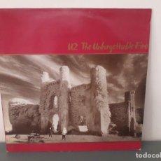 Discos de vinilo: U2 - THE UNFORGETTABLE FIRE. Lote 180391468