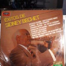 Discos de vinilo: SIDNEY BECHET-EXITOS DE SIDNEY BECHET. Lote 180394591