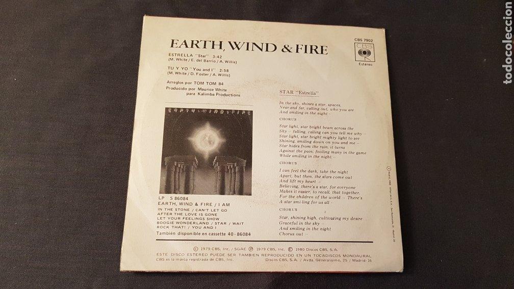 Discos de vinilo: Earth wind & fire..estrella - Foto 2 - 180395633