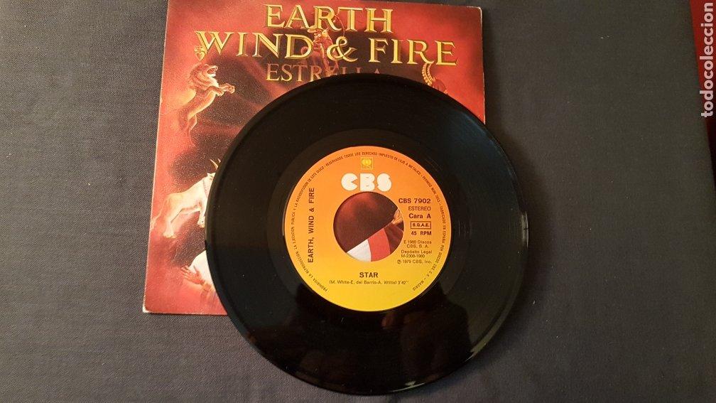 Discos de vinilo: Earth wind & fire..estrella - Foto 3 - 180395633