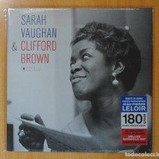 Discos de vinilo: SARAH VAUGHAN & CLIFFORD BROWN - SARAH VAUGHAN & CLIFFORD BROWN - LP. Lote 180395701