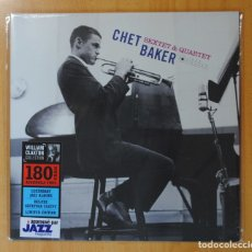 Discos de vinilo: CHET BAKER - CHET BAKER SEXTET & QUARTET - LP. Lote 180395796