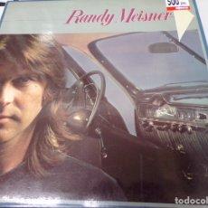 Discos de vinilo: LP - RANDY MEISNER - M/T - ORIGINAL ESPAÑOL, ASYLUM RECORDS 1978, PORTADA DOBLE. Lote 180395832