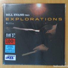 Discos de vinilo: BILL EVANS TRIO - EXPLORATIONS - LP. Lote 180395875
