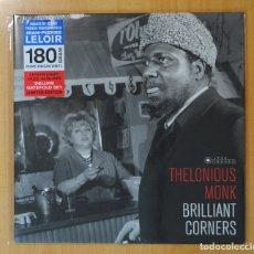 Discos de vinilo: THELONIOUS MONK - BRILLIANT CORNERS - LP. Lote 180396172