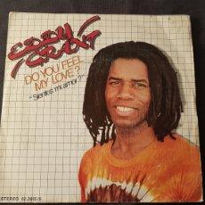 Discos de vinilo: EDDY GRANT..DO YOU FEEL MY LOCE. Lote 180398333