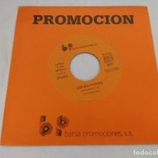 Discos de vinilo: SINGLE/LOS SOLITARIOS/EXTRAÑO/SINGLE PROMOCIONAL.. Lote 180398422