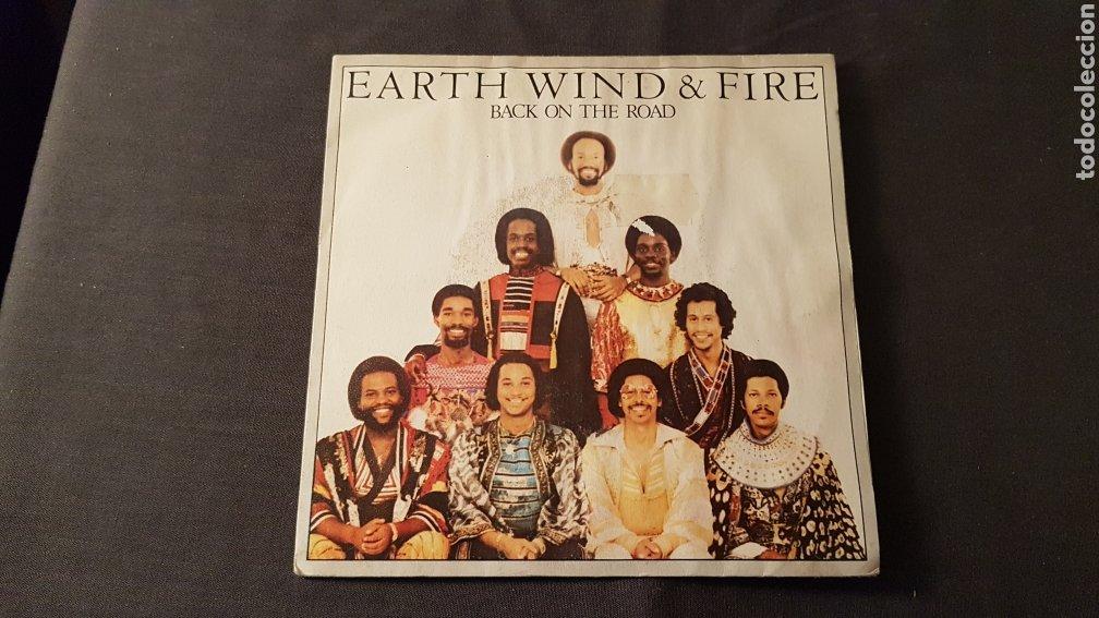 Discos de vinilo: Earth wind & fire..back on the road - Foto 2 - 180398891
