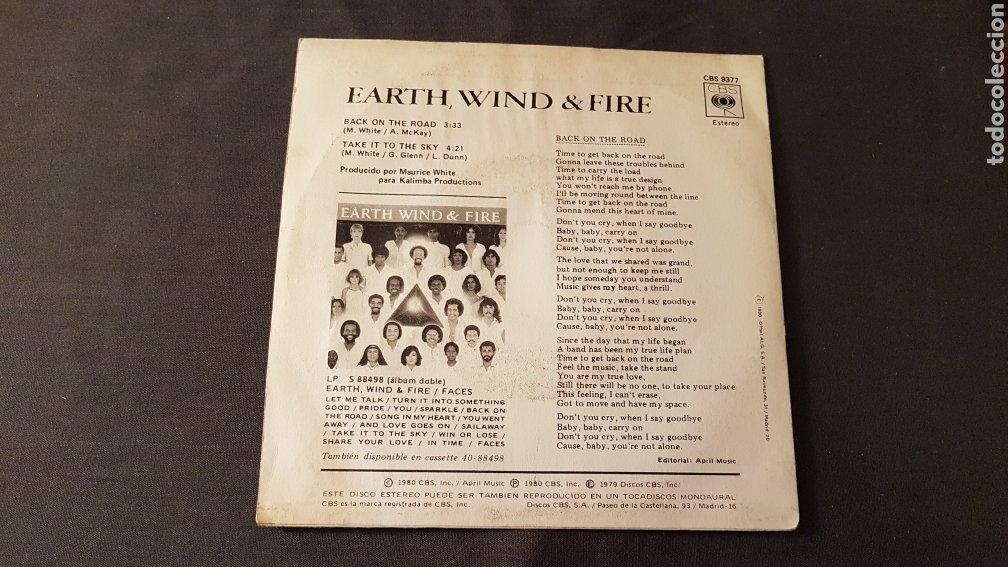 Discos de vinilo: Earth wind & fire..back on the road - Foto 3 - 180398891