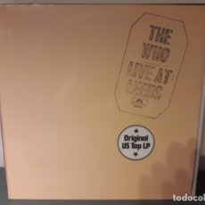 Discos de vinilo: THE WHO - LIVE AT LEEDS. Lote 180399758