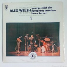 Discos de vinilo: ALEX WELSH - AN EVENING WITH..., BLACK LION RECORDS, 1980. SPAIN.. Lote 180402562
