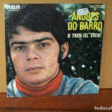 Discos de vinilo: ANDRES DO BARRO - O TREN (EL TREN) - MIÑA MARUXA - SINGLE. Lote 180402925