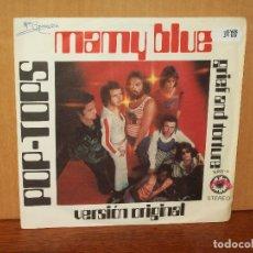 Discos de vinilo: POP-TOPS - MAMY BLUE - GRIEF AND TORTURE - SINGLE . Lote 180406113