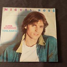Discos de vinilo: MIGUEL BOSÉ..SUPER SUPERMAN. Lote 180406220