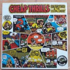 Discos de vinilo: JANIS JOPLIN- BIG BROTHERS & THE HOLDING COMPANY CHEAP THRILLS- LP CBS 1981. Lote 180409496