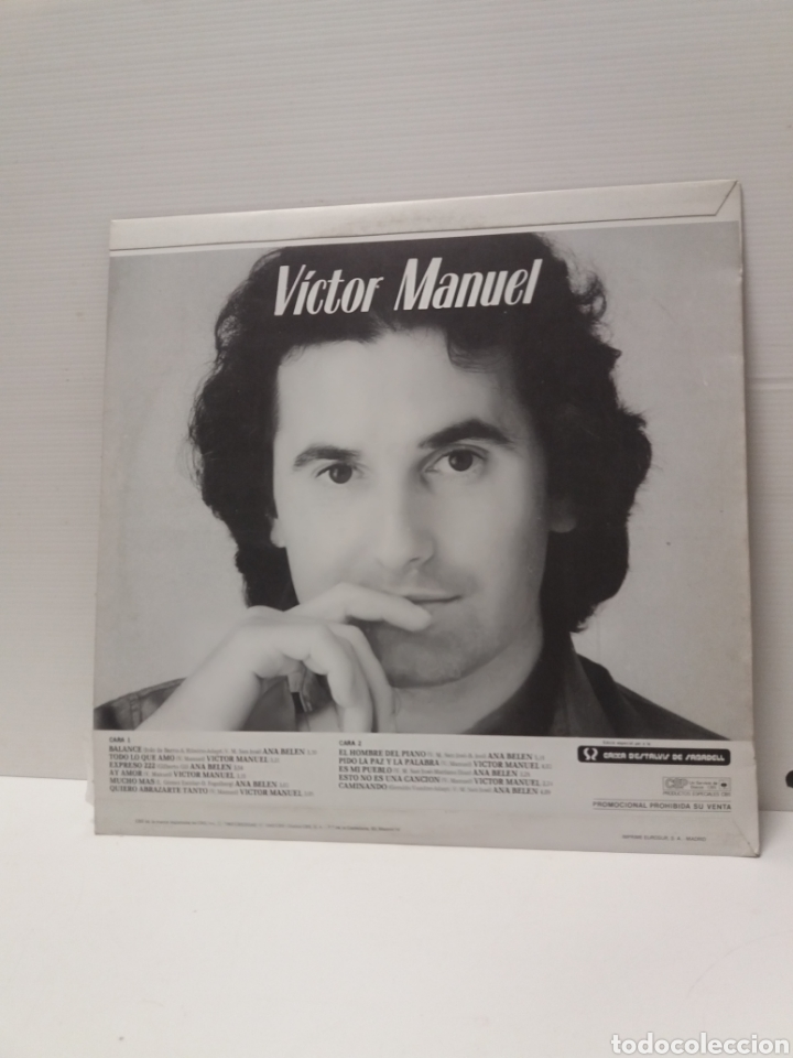 Discos de vinilo: Lp ANA BELEN Y VICTOR MANUEL - Foto 2 - 180410661