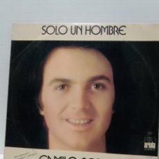 Discos de vinilo: LP CAMILO SESTO , SOLO UN HOMBRE. Lote 180411745