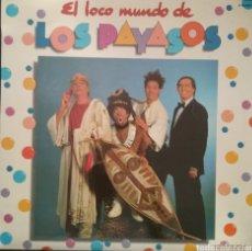 Discos de vinilo: EL MUNDO DE LOS PAYASOS. LP. SELLO HISPAVOX. EDIT.EN ESPAÑA. AÑO 1982. Lote 180415696