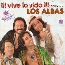 Discos de vinilo: ENVÍO CERTIFICADO - SINGLE LOS ALBAS- IMPACTO 1978 - ENVÍO MÍNIMO EN LOTES 5 €.. Lote 180420780
