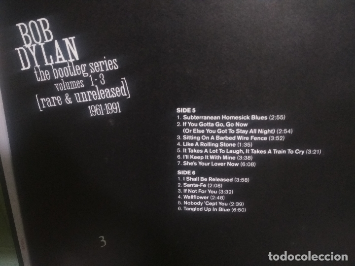 Discos de vinilo: BOB DYLAN BOB DYLAN THE BOOTLEG SERIES PEPETOTOPBOX/LPEUROPA1991PEPETO TOP - Foto 12 - 180421430