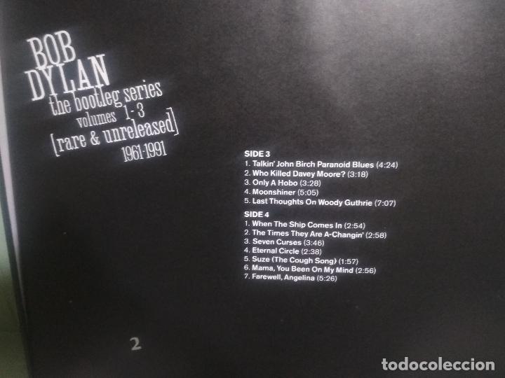 Discos de vinilo: BOB DYLAN BOB DYLAN THE BOOTLEG SERIES PEPETOTOPBOX/LPEUROPA1991PEPETO TOP - Foto 14 - 180421430
