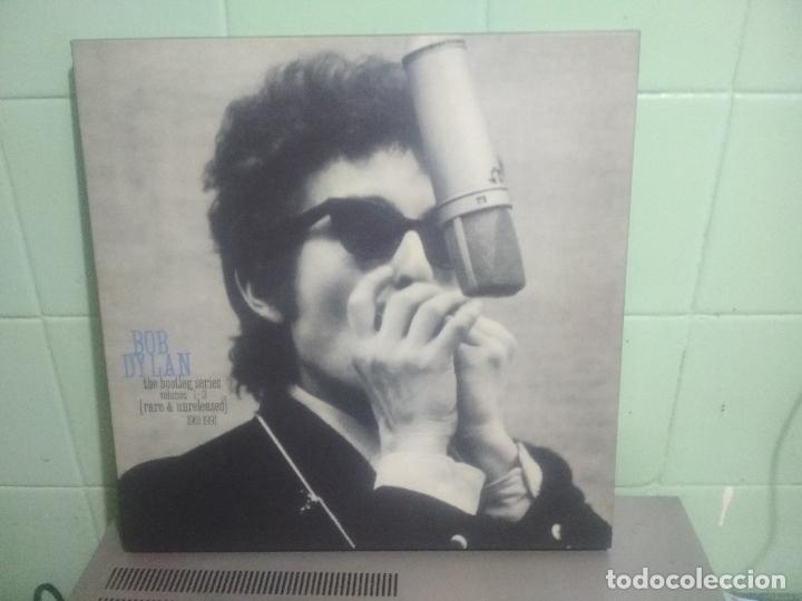 BOB DYLAN BOB DYLAN THE BOOTLEG SERIES PEPETOTOPBOX/LPEUROPA1991PEPETO TOP (Música - Discos - LP Vinilo - Pop - Rock Extranjero de los 90 a la actualidad)