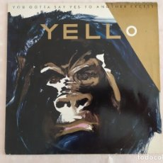 Discos de vinilo: YELLO – YOU GOTTA SAY YES TO ANOTHER EXCESS. Lote 180422751