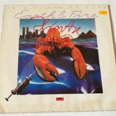 Discos de vinilo: EARTH & FIRE - IN A STATE OF FLUX - LP. Lote 180424092