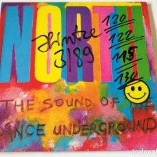 Discos de vinilo: VARIOUS - NORTH - THE SOUND OF THE DANCE UNDERGROUND - 2LP - 1988. Lote 180424227