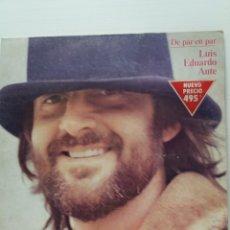 Discos de vinilo: LP DE PAR EN PAR LUIS EDUARDO AUTE. Lote 180424796
