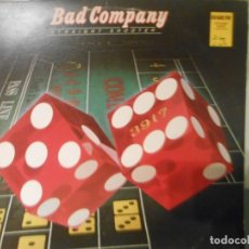 Discos de vinilo: BAD COMPANY - STRAIGHT SHOOTER. Lote 180427356