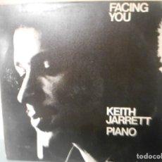 Discos de vinilo: KEITH JARRET PIANO - FACING YOU. Lote 180427563