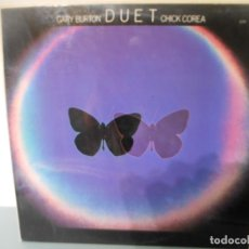 Discos de vinilo: GARY BURTON DUET CHICK COREA. Lote 180427618