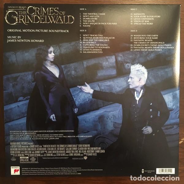 Discos de vinilo: FANTASTIC BEASTS: THE CRIMES OF GRINDELWALD 2LPs (Original Motion Picture Soundtrack) - Foto 2 - 180431122