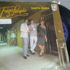 Discos de vinilo: SINGLE ( VINILO) DE TRIGO LIMPIO AÑOS 80. Lote 180436055