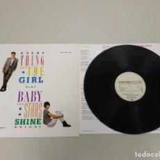 Discos de vinilo: JJ10- EVERY THING BUT THE GIRL BABY STARS SHINE ESP 1986 LP VIN POR VG ++ DIS NM. Lote 180439653